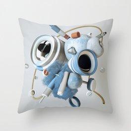 3D Objective Throw Pillow