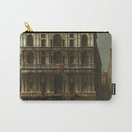 Venice, Palazzo Grimani by Canaletto Carry-All Pouch
