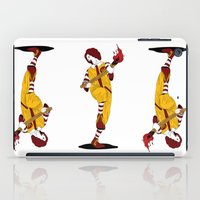 french fries iPad Cases featuring McDonald's Burn French Fries by pexkung