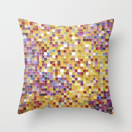 Pixellove - Fluß des Lebens Throw Pillow