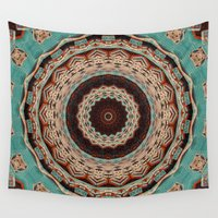 southwest Wall Tapestries featuring Southwest Mandala by Cindi Ressler Photography