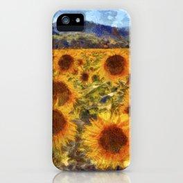 Sunflowers Vincent van Gogh iPhone Case