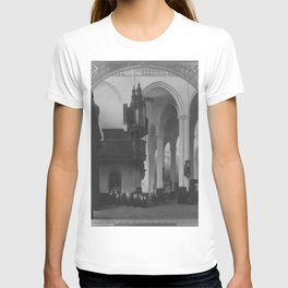 Johannes Bosboom - Das Innere der Neuen Kirche in Amsterdam T-shirt