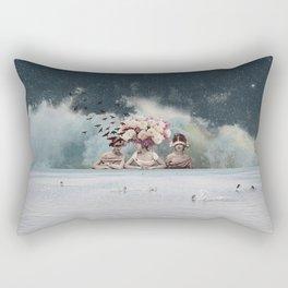 Bridesmaids of the Windy Bride Rectangular Pillow
