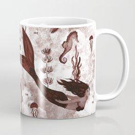 Under the Sea (Maroon) Part 2 Coffee Mug
