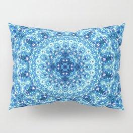 Crystal Radiance Mandala Pillow Sham