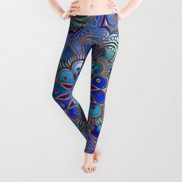 Mandala with Silk Effect Leggings