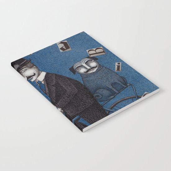Two Men Travelling Notebook