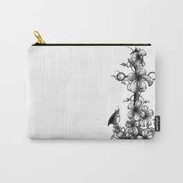Anchor & flowers Carry-All Pouch