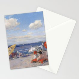 At the Seaside, William Merritt Chase 1892 Stationery Cards