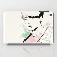 exo iPad Cases featuring Love Me Right - Sehun by putemphasis
