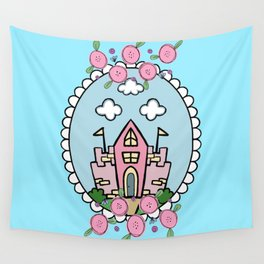 Enchanted Castle Wall Tapestry