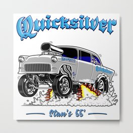 QUICKSILVER-2 Gasser Metal Print
