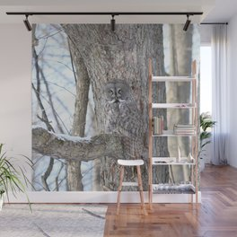 Great gray camouflage Wall Mural