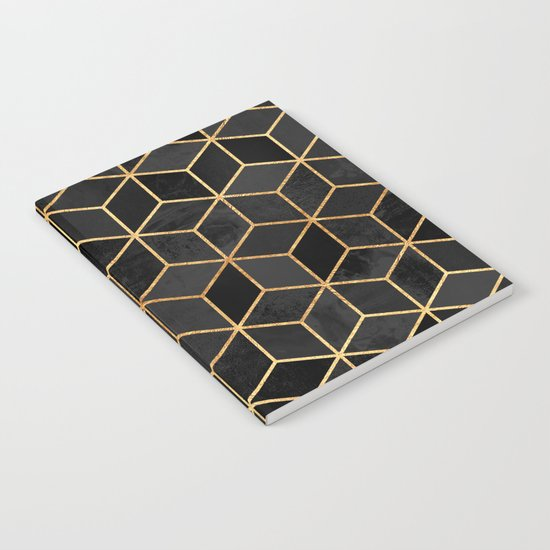 Black Cubes Notebook