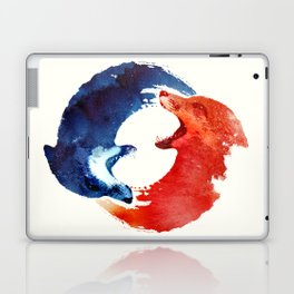 Ying yang Laptop & iPad Skin