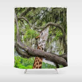Just Minding My Own Business Shower Curtain