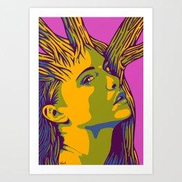Sleeping Forest 12 Art Print