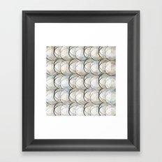 Circles and circles Framed Art Print