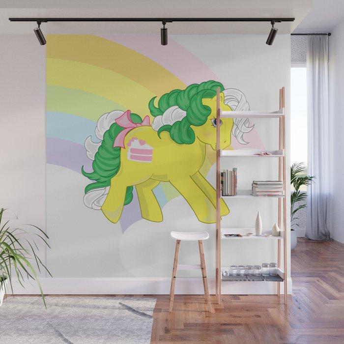 G1 My Little Pony Lemon Treats Wall Mural By Gertee Society6