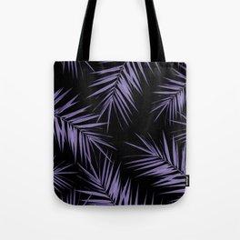 Palm Leaves Cali Finesse #5 #UltraViolet #Black #tropical #decor #art #society6 Tote Bag