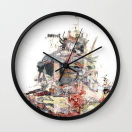 A Composition Wall Clock