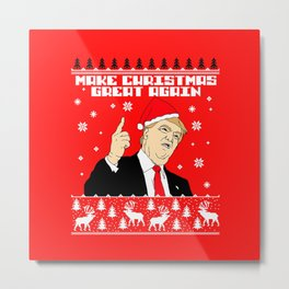 merry christmass Metal Print