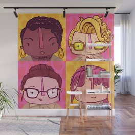 Homage to Female Ghostbusters Wall Mural