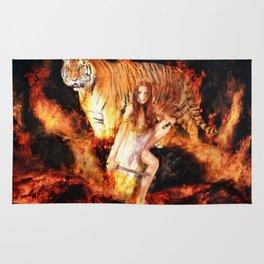 Fire Dancer Rug