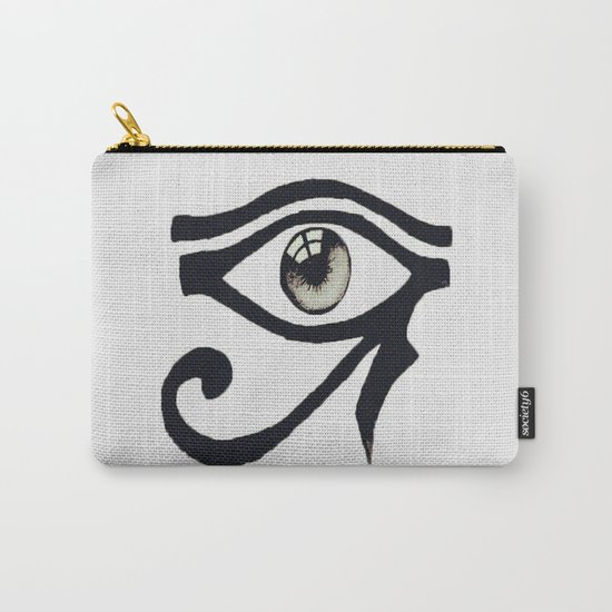 Chinese Alphabet Eye Carry-All Pouch