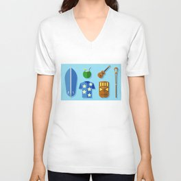Only the essentials - II.- Unisex V-Neck