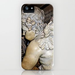 Angel in St Peter's Basilica iPhone Case