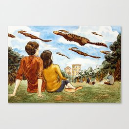 Migration Day Canvas Print