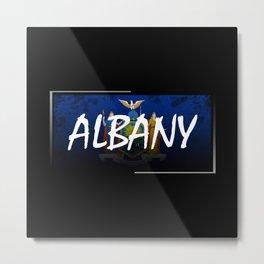 Albany Metal Print