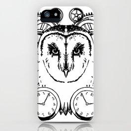 Clockwork Owl iPhone Case