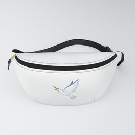 Olive Branch & Dove Fanny Pack