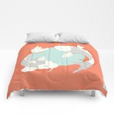 Koi fish 004 Comforters