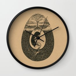 Natural Birth Wall Clock