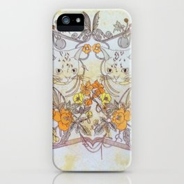 Twisted Twin Sisters iPhone Case
