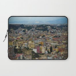 Napoli view Laptop Sleeve