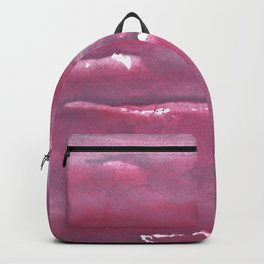 Indian red colorful watercolor Backpack