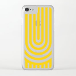 U, Clear iPhone Case