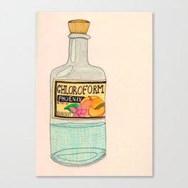 Chloroform Phoenix Canvas Print