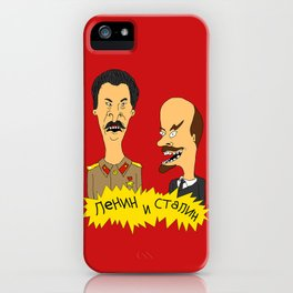 Lenin and Stalin iPhone Case