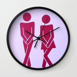 great Haste Wall Clock