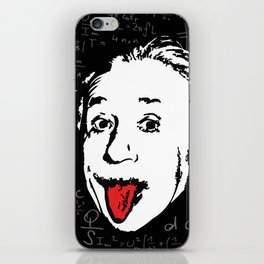 Silly Wisdom - Albert Einstein iPhone Skin