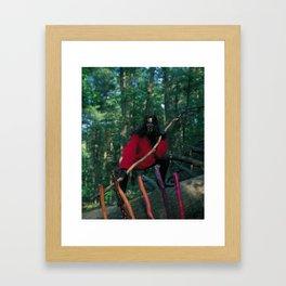 7 of Wands Framed Art Print