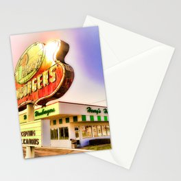 """""""Burger Dreams"""" Stationery Cards"""