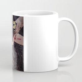 aGirl w/fan&craneTattoo Coffee Mug