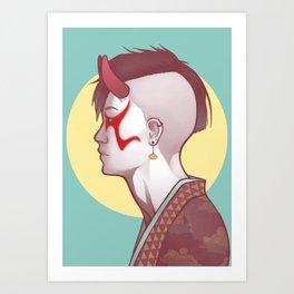 Demon Within Art Print